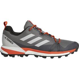 adidas TERREX Skychaser LT Low-Cut Shoes Men grey three/grey one/active orange
